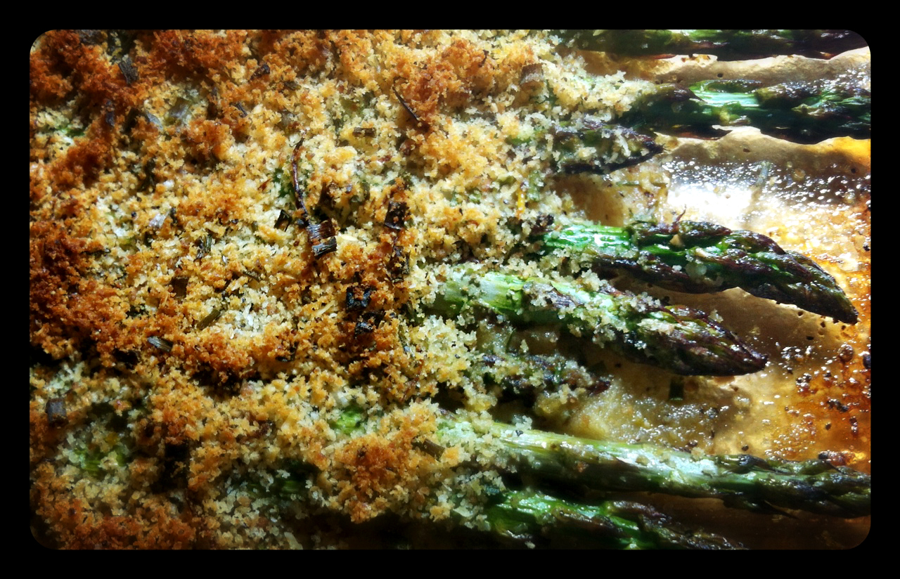 Day 27 – Crumbed Asparagus